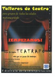 Cartel Teatrapo